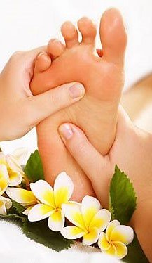 Reflexology. Reflexology foot narrow